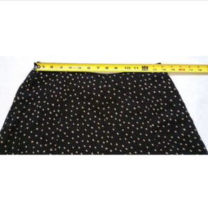 3a77c77d5897 White House Black Market Skirts - WHBM Skirt Circle Layered Polka Dot 100%  Silk 0379